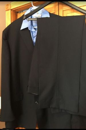 Calvin Klein Men's suit including pants that are 38/34 for sale  size and a buttoned down shirt that is 36/37
