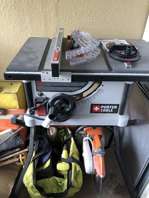 Table saw used only 1 time. for Sale in Weslaco, TX