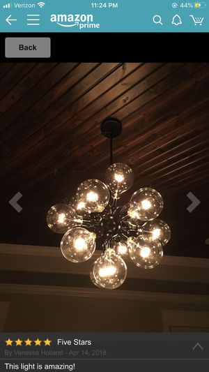 Chandelier Ceiling Pendant Light for Sale in Columbus, OH