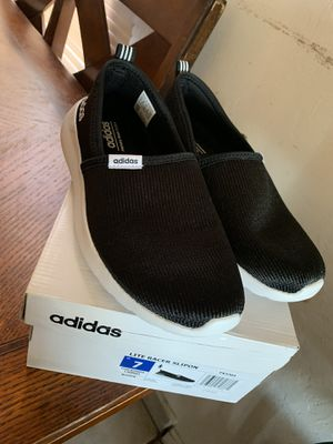Lite racer slipon adidas size 7 in women for Sale in Fresno, CA