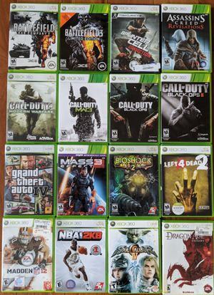 XBOX 360 Games for Sale in Englishtown, NJ