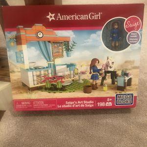 American girl Doll Saige's Art Studio Mega Blocks for Sale in Elizabeth, PA