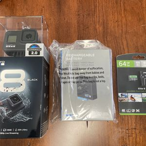 GoPro Hero 8 Black Brand New for Sale in Half Moon Bay, CA