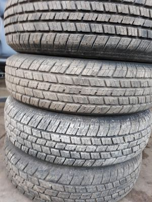 A set of Tires size 205 75 15 for Sale in Takoma Park, MD