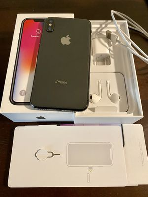 iPhone X 64GB Factory Unlocked for Sale in Sunnyvale, CA