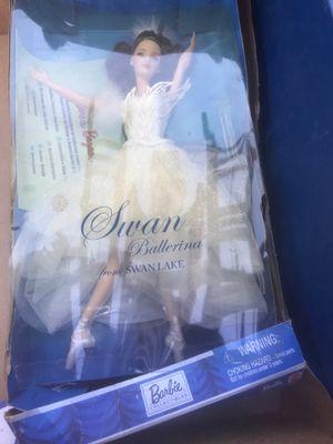 Swan ballerina barbie for Sale in Bloomington, CA