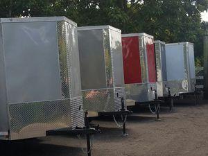 6x12 SA NEW 2019 enclosed trailers for Sale in Miami, FL