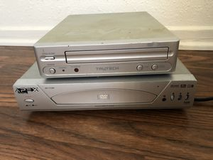 2 DVD players - model T600-gD and AD-1110W for Sale in Anaheim, CA