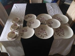 Vintage 14 pc. Eternal Rose China for Sale in Alexandria, VA