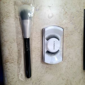 MAC Brush And Eyelashes for Sale in Moreno Valley, CA