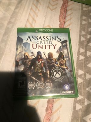 ASSASINS CREED UNITY XBOX ONE GAME for Sale in Los Angeles, CA
