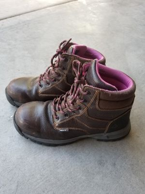Working Boots steal toe for Sale in Las Vegas, NV