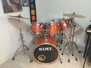Mapex meridian birch drum set for Sale in Miami, FL