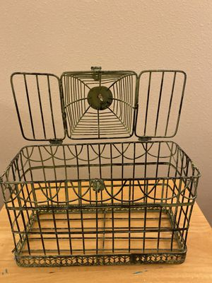 Wire Bird Cage for Sale in Raleigh, NC