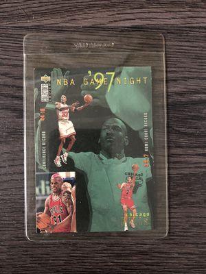 Jordan/bulls vintage collectible card for Sale in Culver City, CA