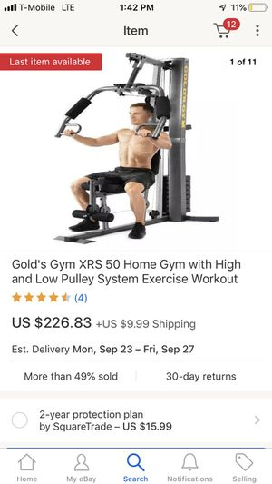 Golds gym xrs50 home gym for Sale in Cambridge, MA