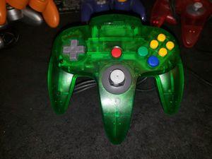 Nintendo 64 Jungle Green N64 Controller - Like New for Sale in Bakersfield, CA