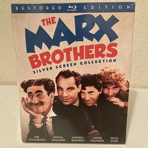 The Marx Brothers Silver Screen Collection (Blu-ray Disc, 2016, 3-Disc Set) for Sale in Fort Worth, TX