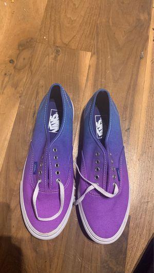 Vans shoes women's 8.5 men's 7.0 for Sale in La Mirada, CA