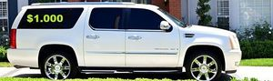 🍁URGENT!🍁 🔑🔑$1O00 I Selling 2OO8 Cadillac Escalade ,Very Clean! for Sale in Hartford, CT