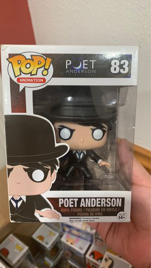Poet Anderson Funko Pop for Sale in South Gate, CA