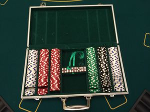 Poker table+ chips for Sale in Germantown, MD