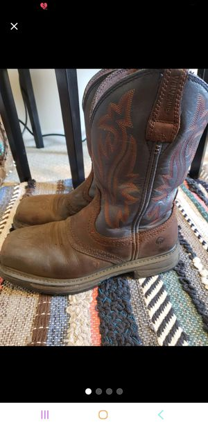 Mens work boots 8.5 for Sale in Marseilles, IL