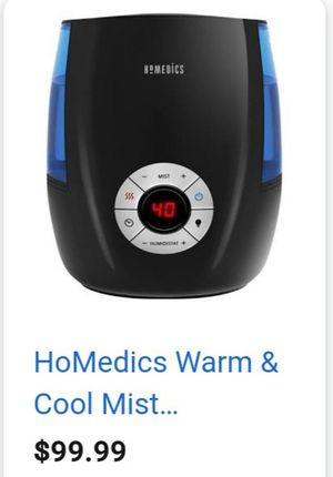 Homedics Warm & Cool Mist Humidifier for Sale in Portola Hills, CA