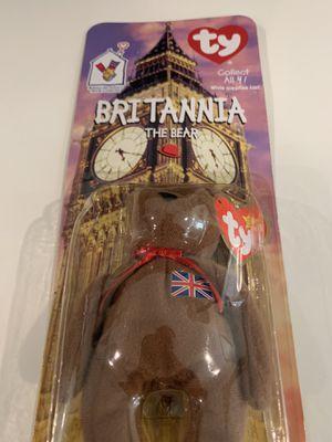 Britannia The Bear [1993 Error Tag] Beanie Baby for Sale in San Jose, CA