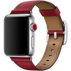 APPLE WATCH 38MM RUBY (PRODUCT) RED CLASSIC BUCKLE LEATHER BAND for Sale in San Diego, CA
