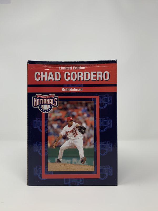 Vintage Limited Edition Washington Nationals Chad Cordero Bobblehead