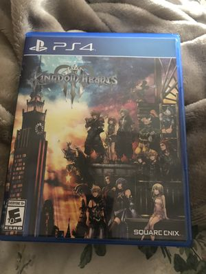 Kingdom Hearts 3 PS4 for Sale in Cleveland, OH