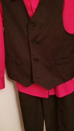 Boy Pant Suit With Vest Size 7 for Sale in Haymarket,  VA
