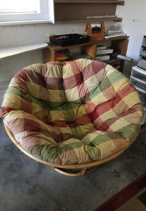 Papasan chair for Sale in Manson, WA