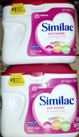 Similac soy for Sale in Los Angeles, CA