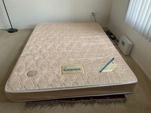 Kawada Japanese queen mattress for back problem patient for Sale in Irvine, CA