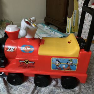 Disney Ride-On Vehicle Toy / Push And Ride Toy for Sale in Lombard, IL