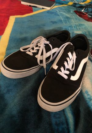 Black and Maroon vans for Sale in College Station, TX