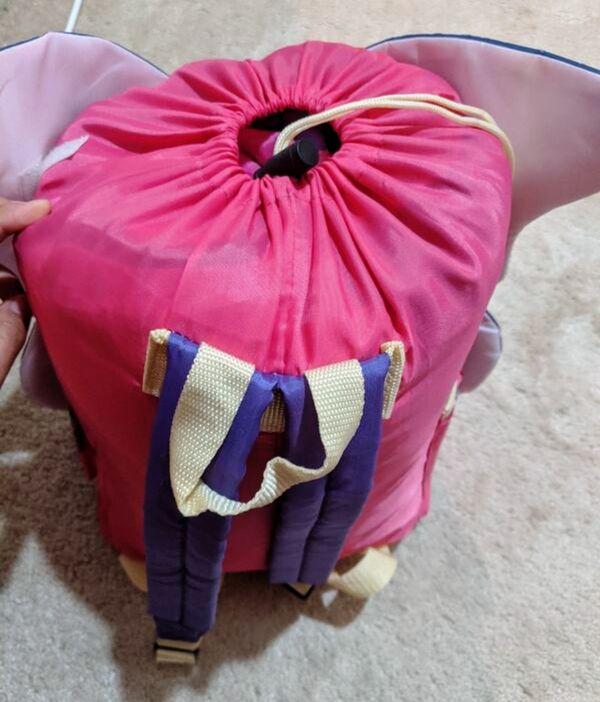 Butterfly backpack sleeping bag