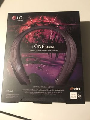 LG Tone Studio Retractable Bluetooth Headphones for Sale in Henderson, NV