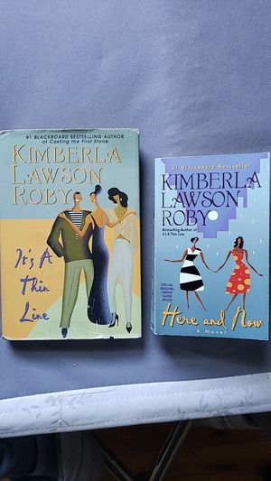 2 Kimberly Lawson Roby Novels for Sale in Manchester, CT