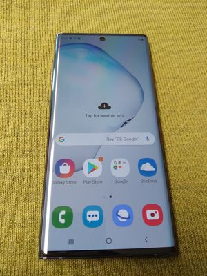 Unlocked samsung Galaxy Note 10 plus for Sale in Shoreline, WA