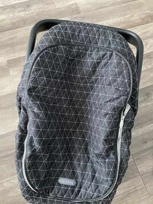 Evenflo car seat and JJ Cole cover for Sale in Manassas, VA