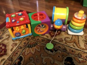 Learning toys and cubes for Sale in Queen Creek, AZ