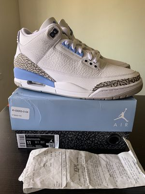 Air Jordan 3 unc size 11 (read description & yes still available) for Sale in Los Angeles, CA