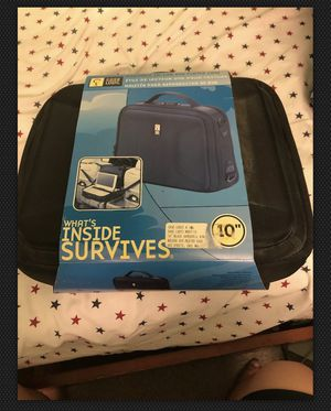 "CASE LOGIC - Travel Storage Portable DVD Player Case 9"" - Black - LN! for Sale in Stockton, CA"