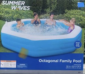 Summer Waves Octagonal Family Pool for Sale in Hackensack, NJ