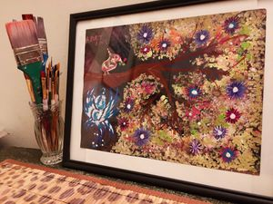 """""""Birds in a Tree"""" Handmade painting for Sale in Miami, FL"""