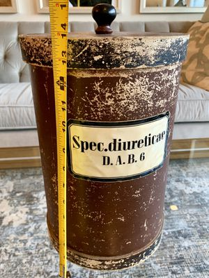 Antique European Apothecary Container for Sale in Alexandria, VA
