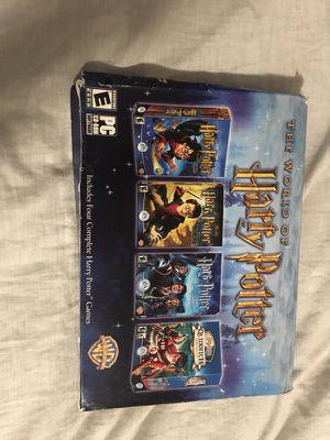Harry Potter CD Rom set 1-4 for Sale in Austin, TX